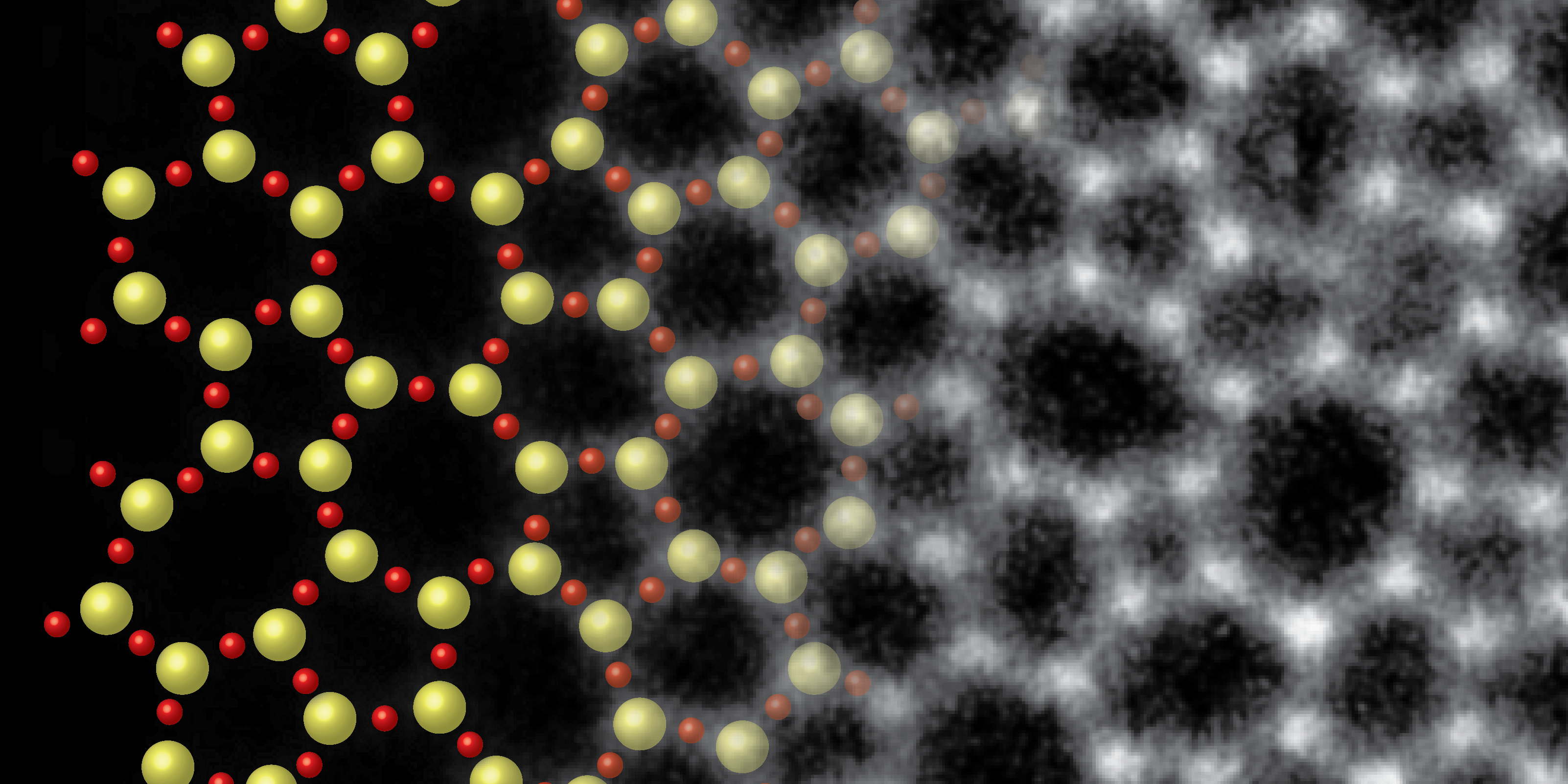Imaging the atomic structure of silica glass